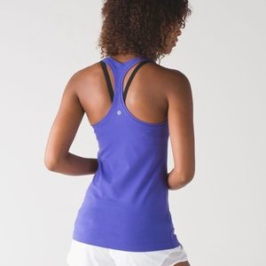 Lululemon Cool Racerback II Tank Super Purple-4